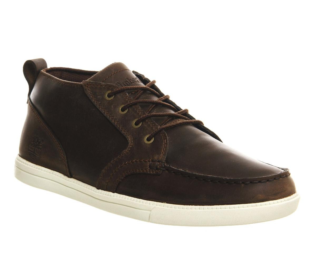 Timberland Newmarket Fulk Lp Chukka Moc Toe in Brown for ...