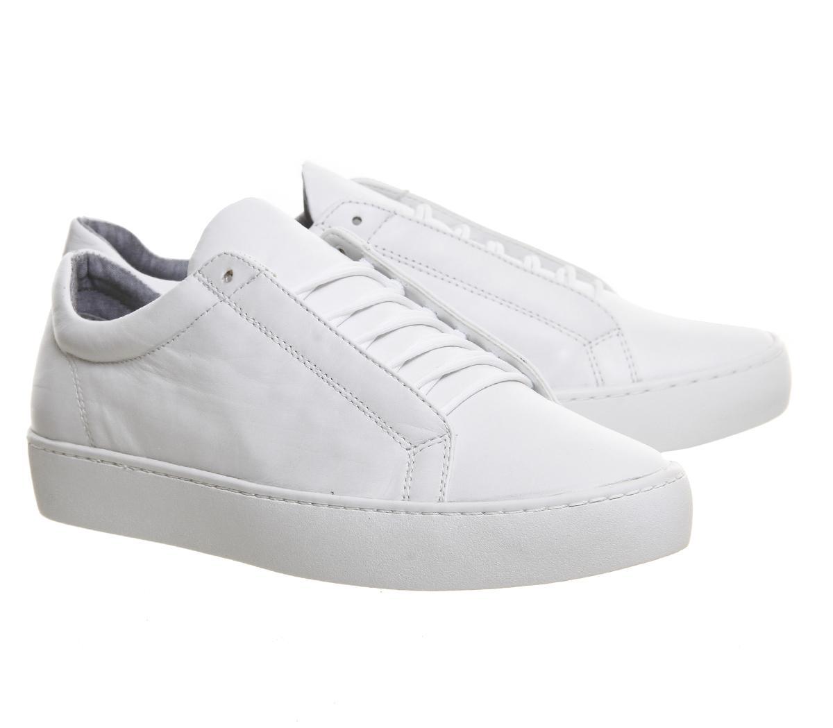 de9d3a77c339dc Lyst - Vagabond Zoe Lace Sneaker in White