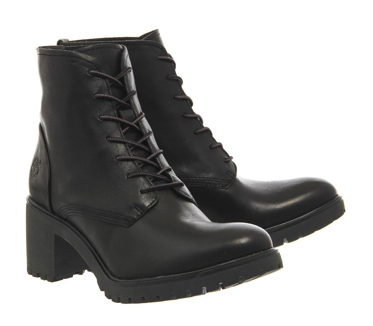 Timberland Boots Womens - Timberland Averly Lace Chukka Black