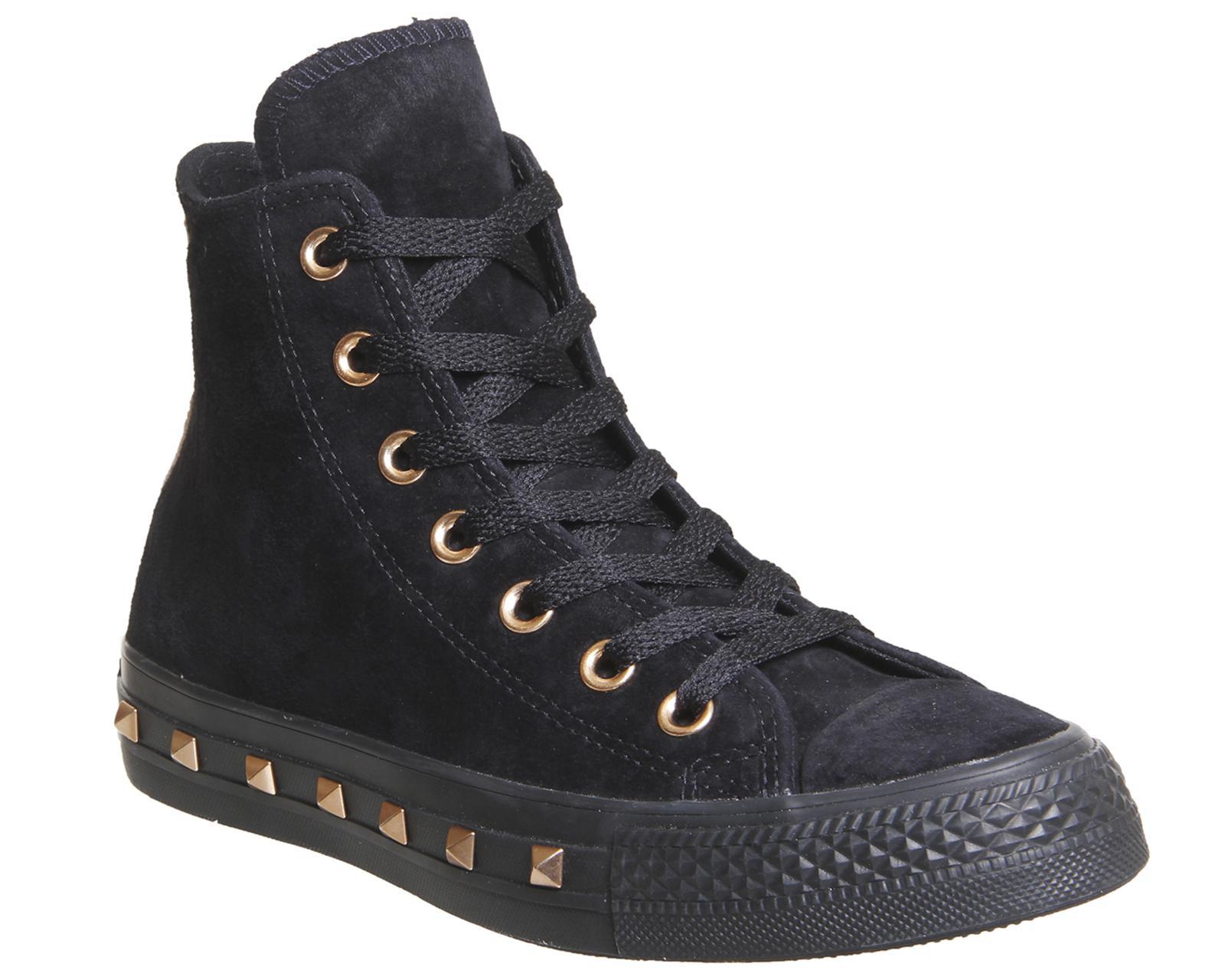Converse Women S Black All Star Hi Leather