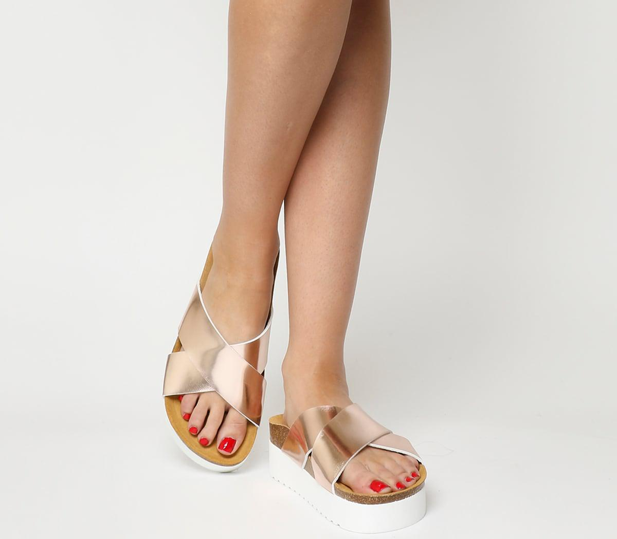 f01317cd5 Lyst - Office Warner Platform Sandals