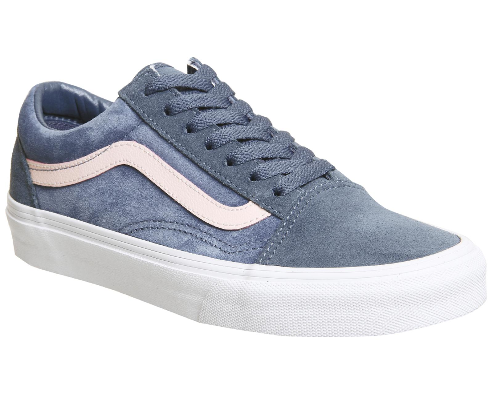 129032c806ac Lyst - Vans Old Skool Trainers in Blue for Men