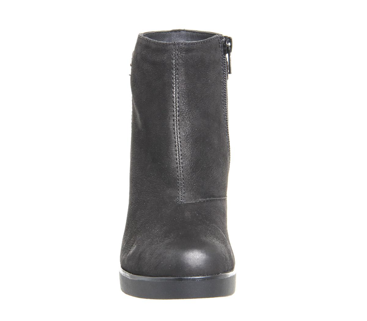 65f8031504 Vagabond Valencia Wedge Boots in Black - Lyst
