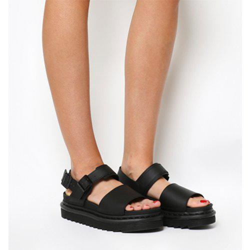 ccd106a3aeeb Dr. Martens Voss Sandal in Black - Lyst