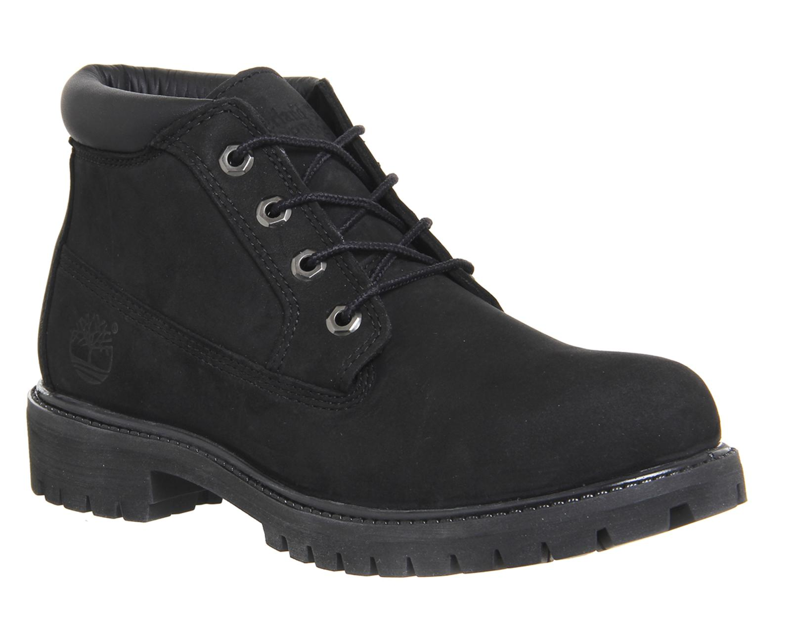 Timberland Casual Shoes Icon Chukka Black Leather