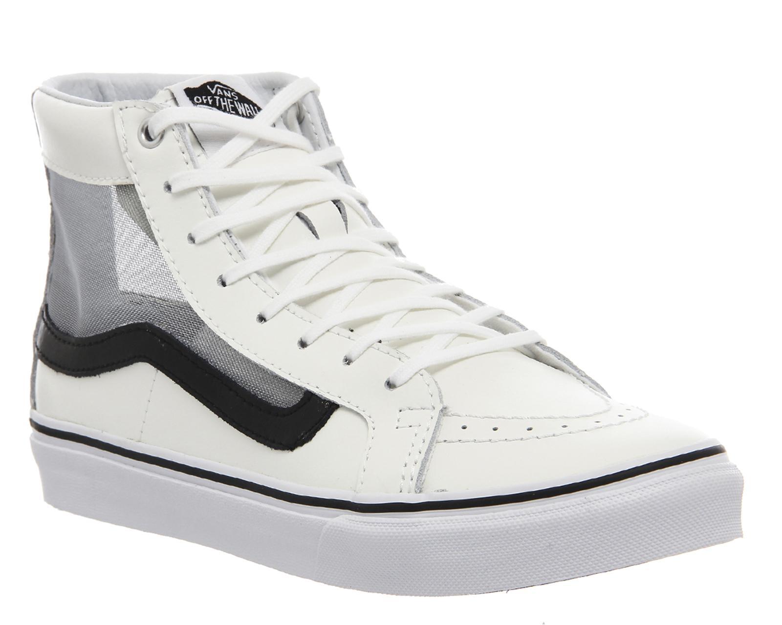 4a3fdffedc Lyst - Vans Sk8 Hi Slim in White for Men