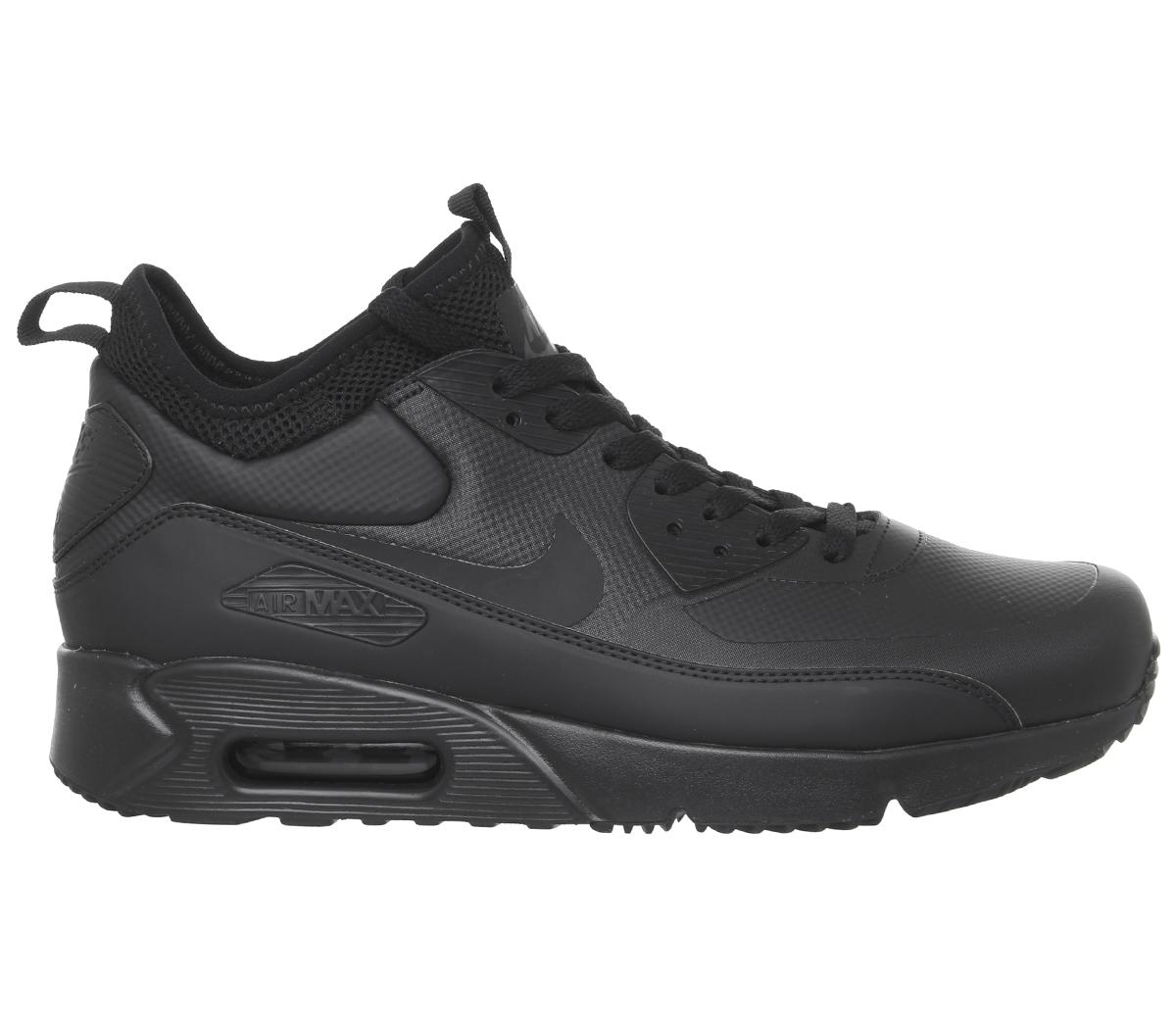 d285ff6f9e0 Nike - Black Air Max 90 Mid Wntr Te for Men - Lyst. View fullscreen
