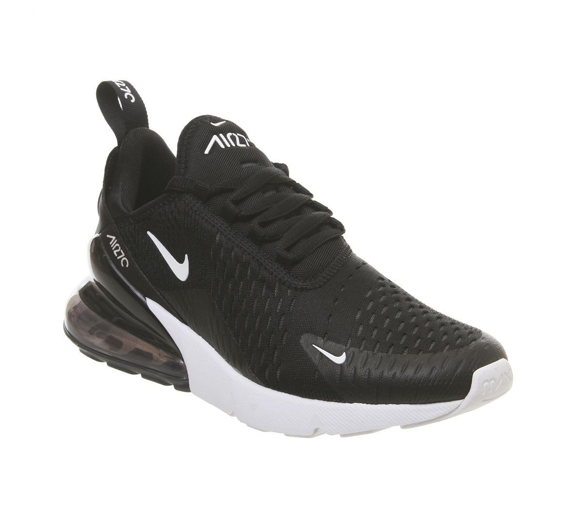 8eb9d21a6b528 Lyst - Nike Air Max 270 Trainers in Black - Save 16%