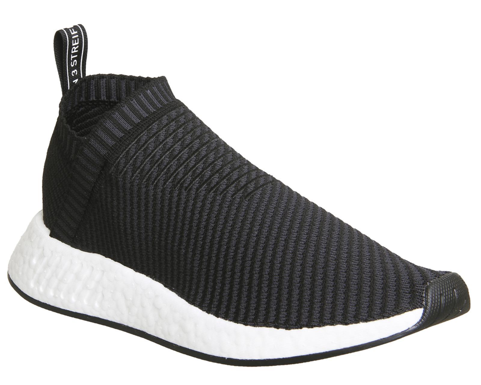 adidas nmd città sock 2 in nero per gli uomini lyst
