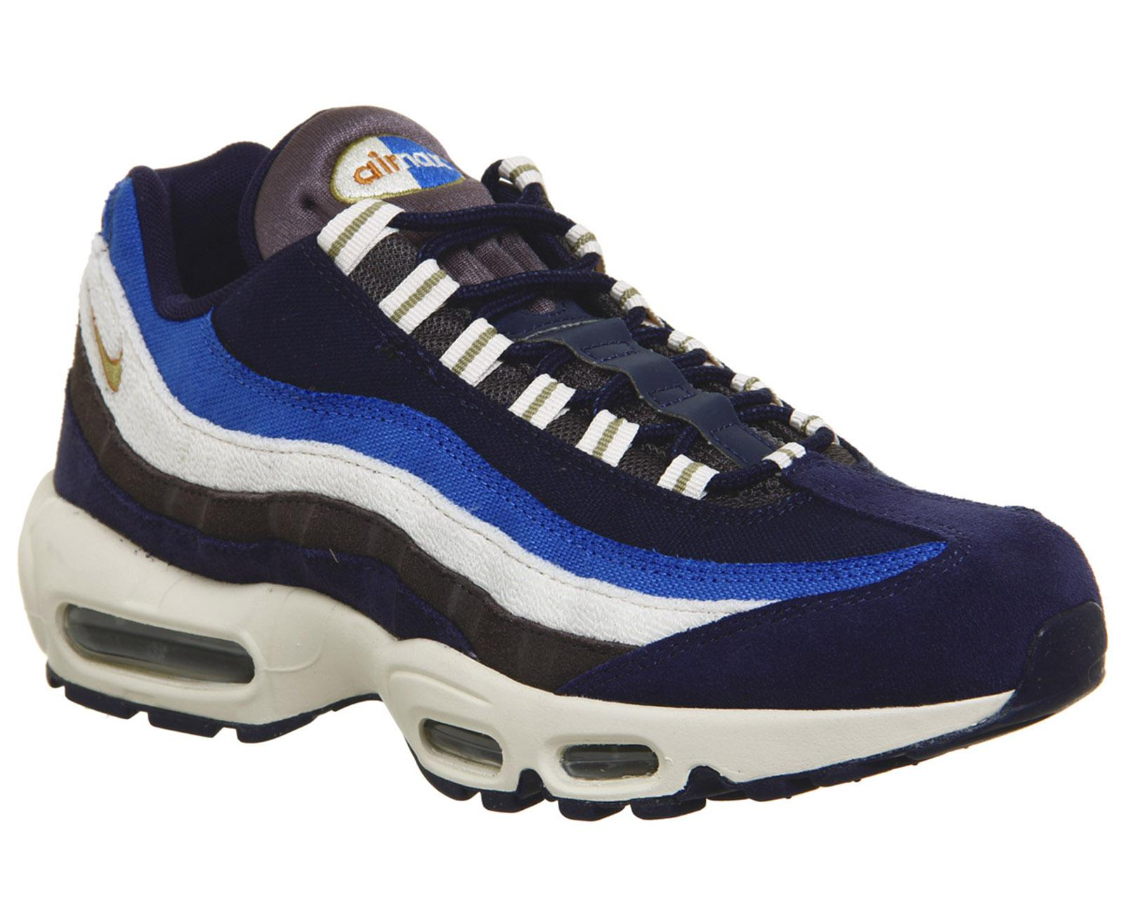 b1a11191136 ... inexpensive nike air max 95 d in blue for men lyst a69bb 724e3