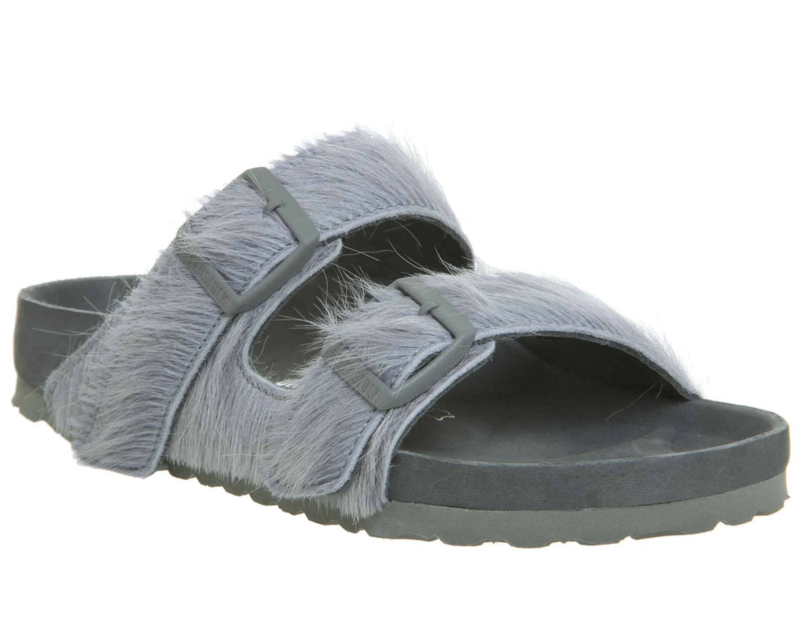 8711e65be66e Rick Owens Ro Arizona Two Strap Sandals in Gray for Men - Lyst