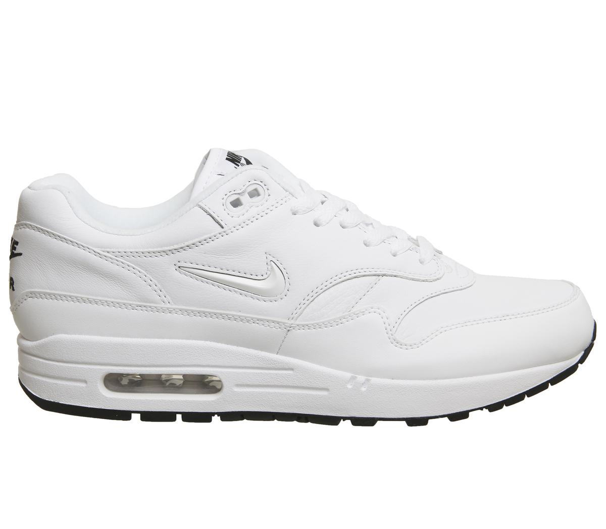 new arrival 43921 38937 Lyst - Nike Air Max 1 Jewel Trainers in White for Men