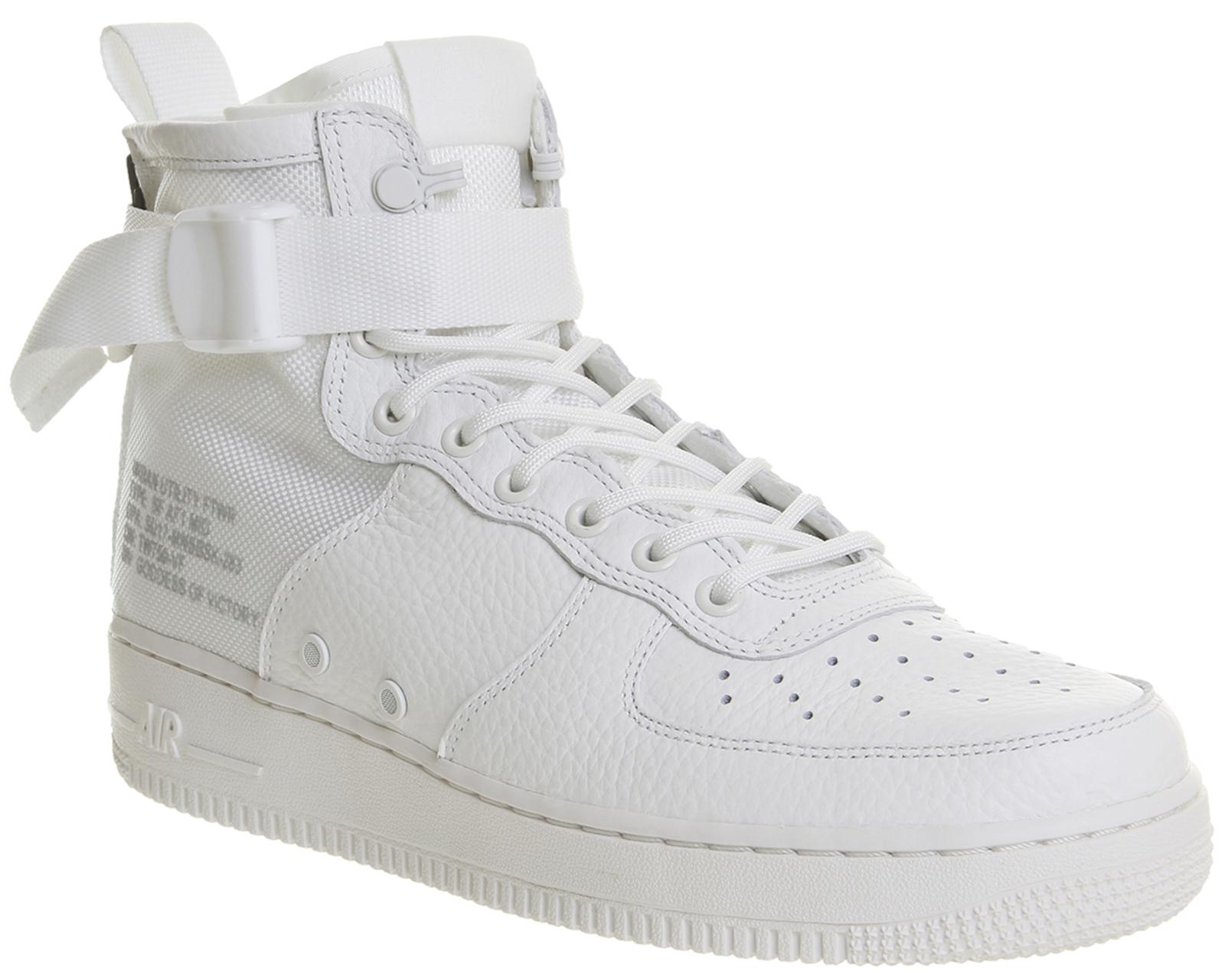 new styles 0196f 1d0bc Lyst - Nike Sf Af1 Mid 17 in White for Men