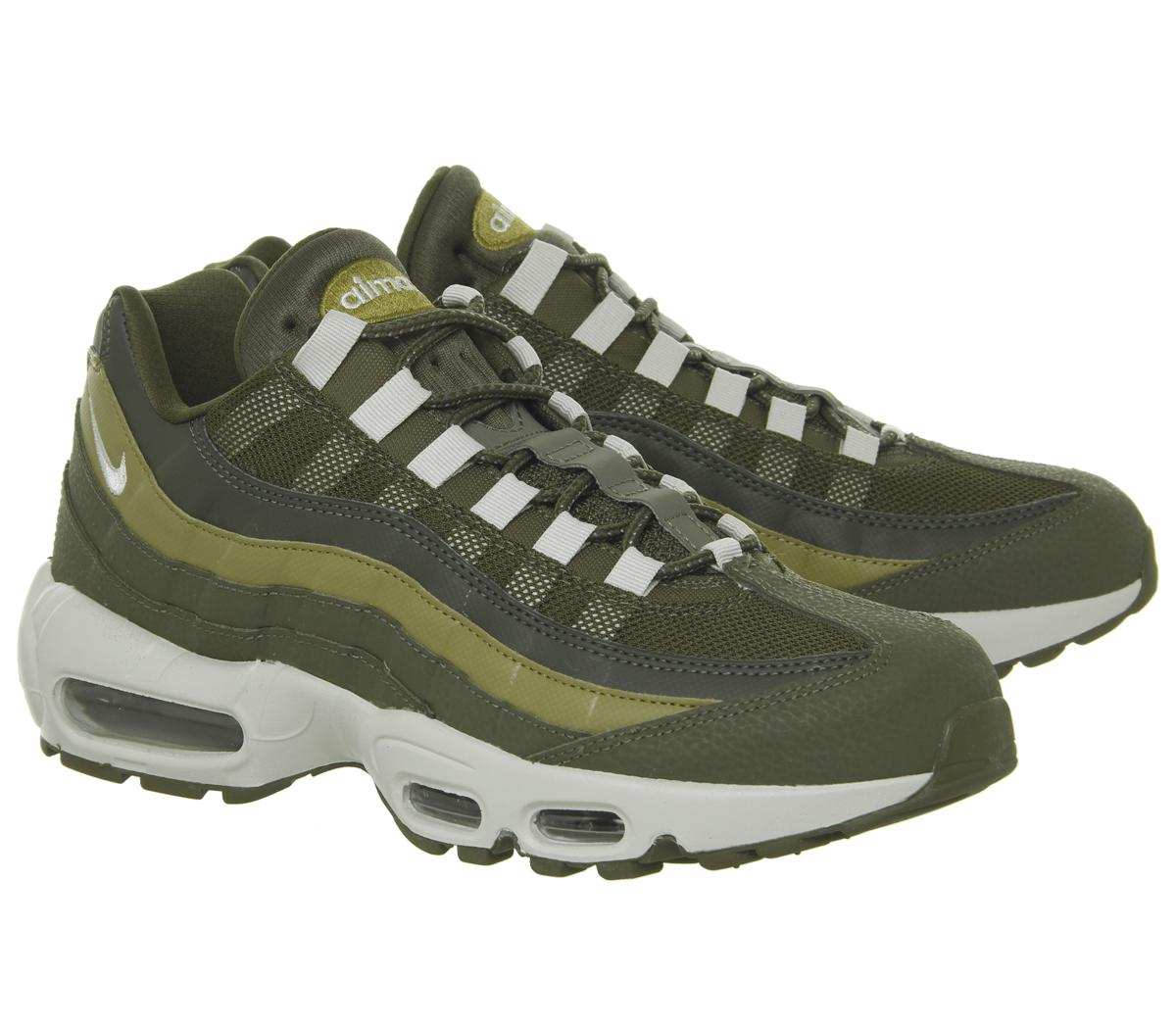 c715470758 Nike - Green Air Max 95 Trainers for Men - Lyst. View fullscreen