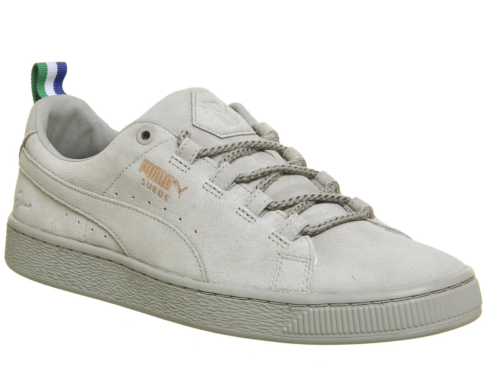 PUMA Suede Classic Trainers in Gray for Men - Lyst babf1b569