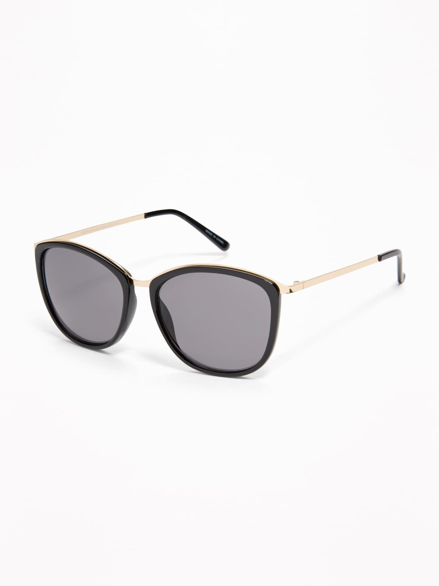 10d67856460d Lyst - Old Navy Mixed-material Sunglasses in Black