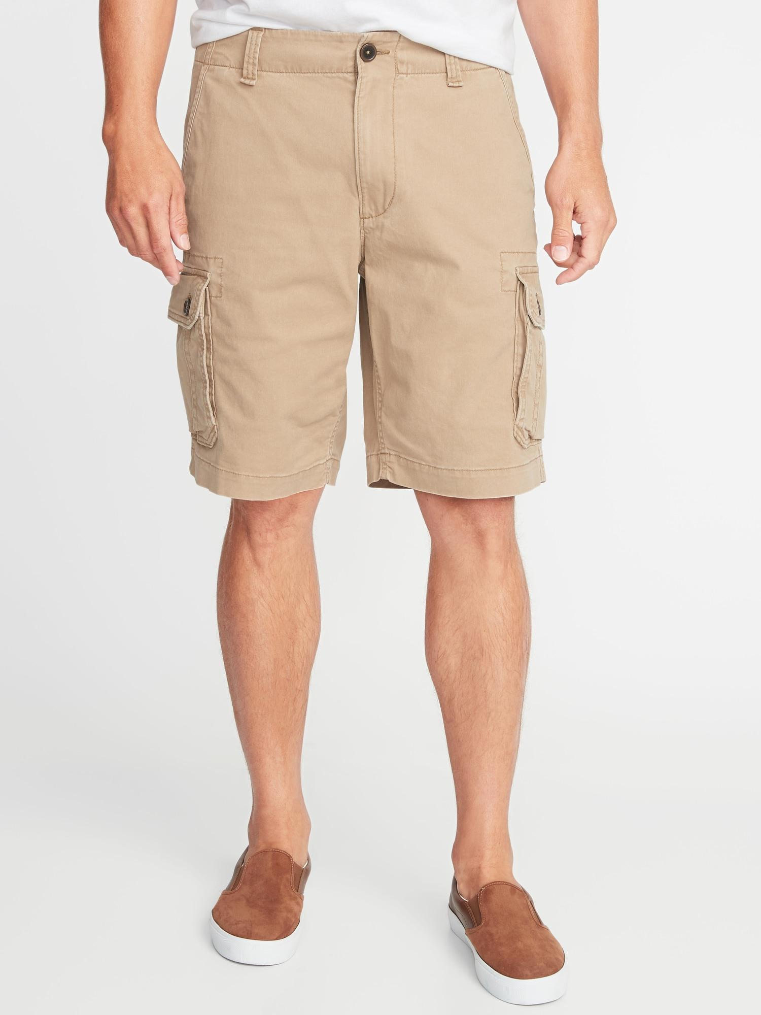 0f8ac4742474b Lyst - Old Navy Straight Lived-in Built-in Flex Cargo Shorts in ...