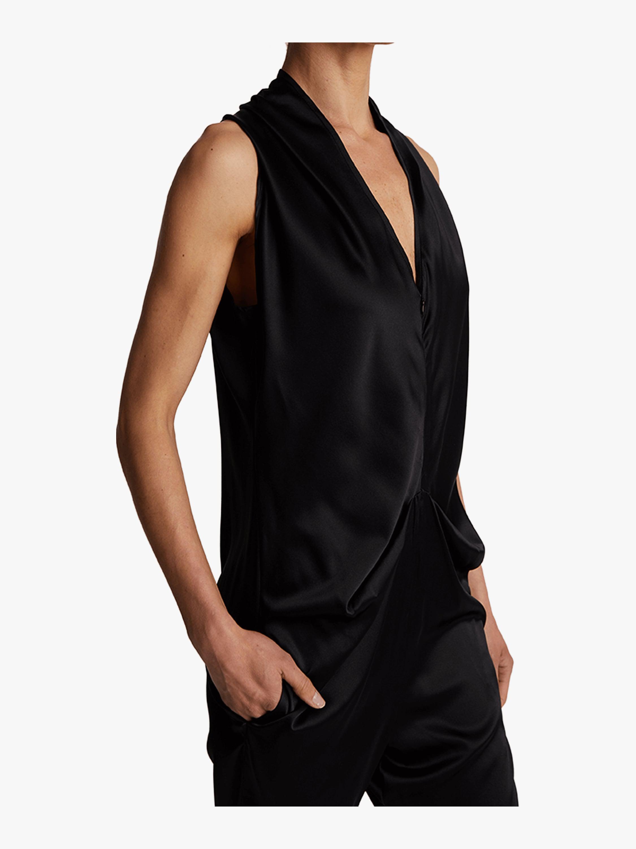 d5f11da490b Lyst - Zero + Maria Cornejo Amelie Jumpsuit in Black