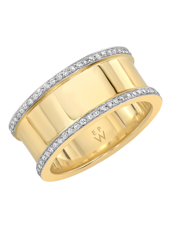 Emily P Wheeler Women S Metallic Baby Cigar Ring