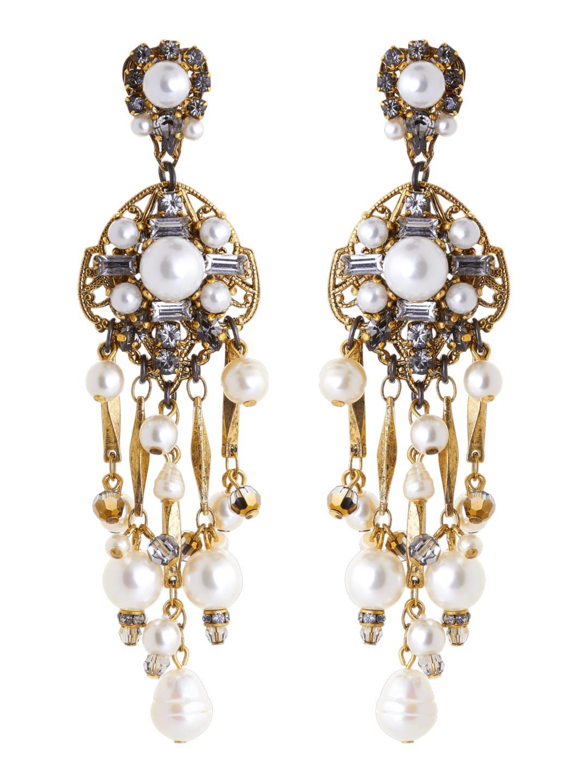 Erickson Beamon Pretty Woman Pearl Earrings PEFJS