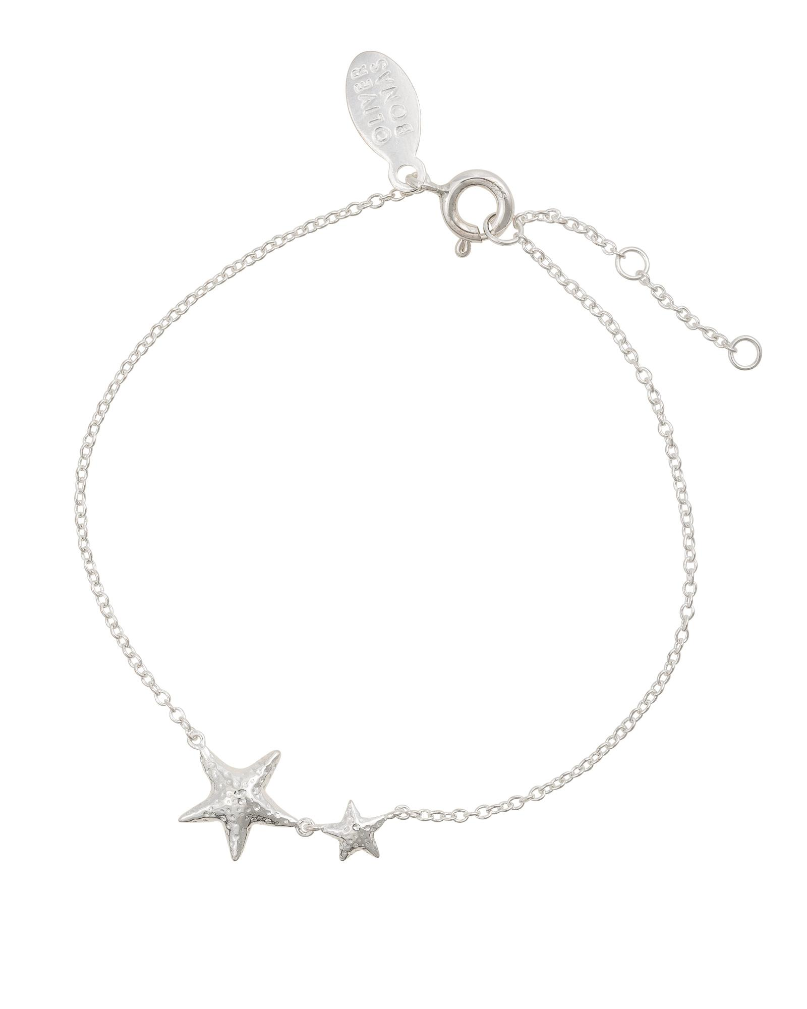 8254cf266 Oliver Bonas. Women's Metallic Shelby The Starfish Silver Chain Bracelet