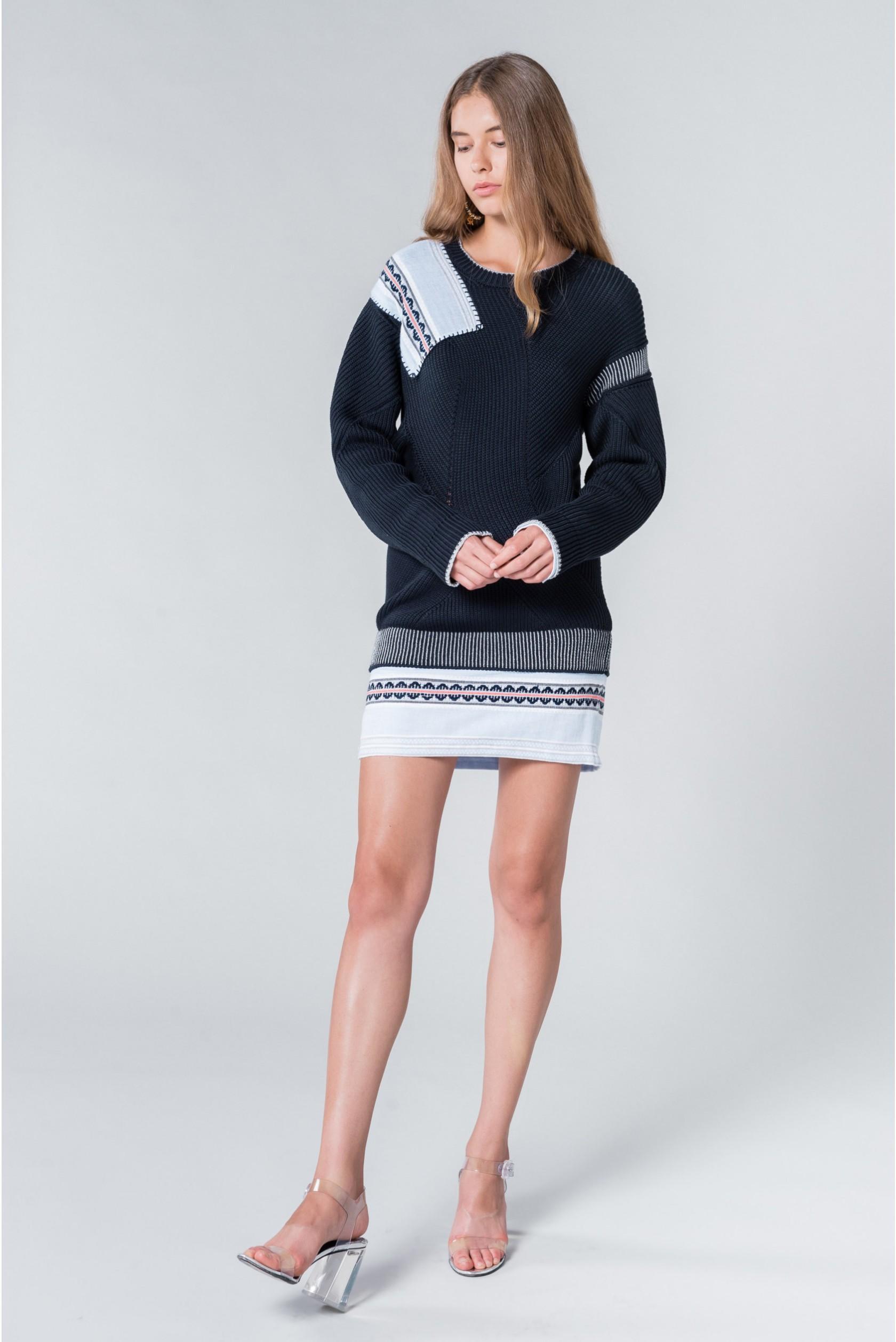 bd902b3eb1b Sonia Rykiel. Women's Blue Generous Sweater Liya Kebede. $1,640 From Orchard  Mile