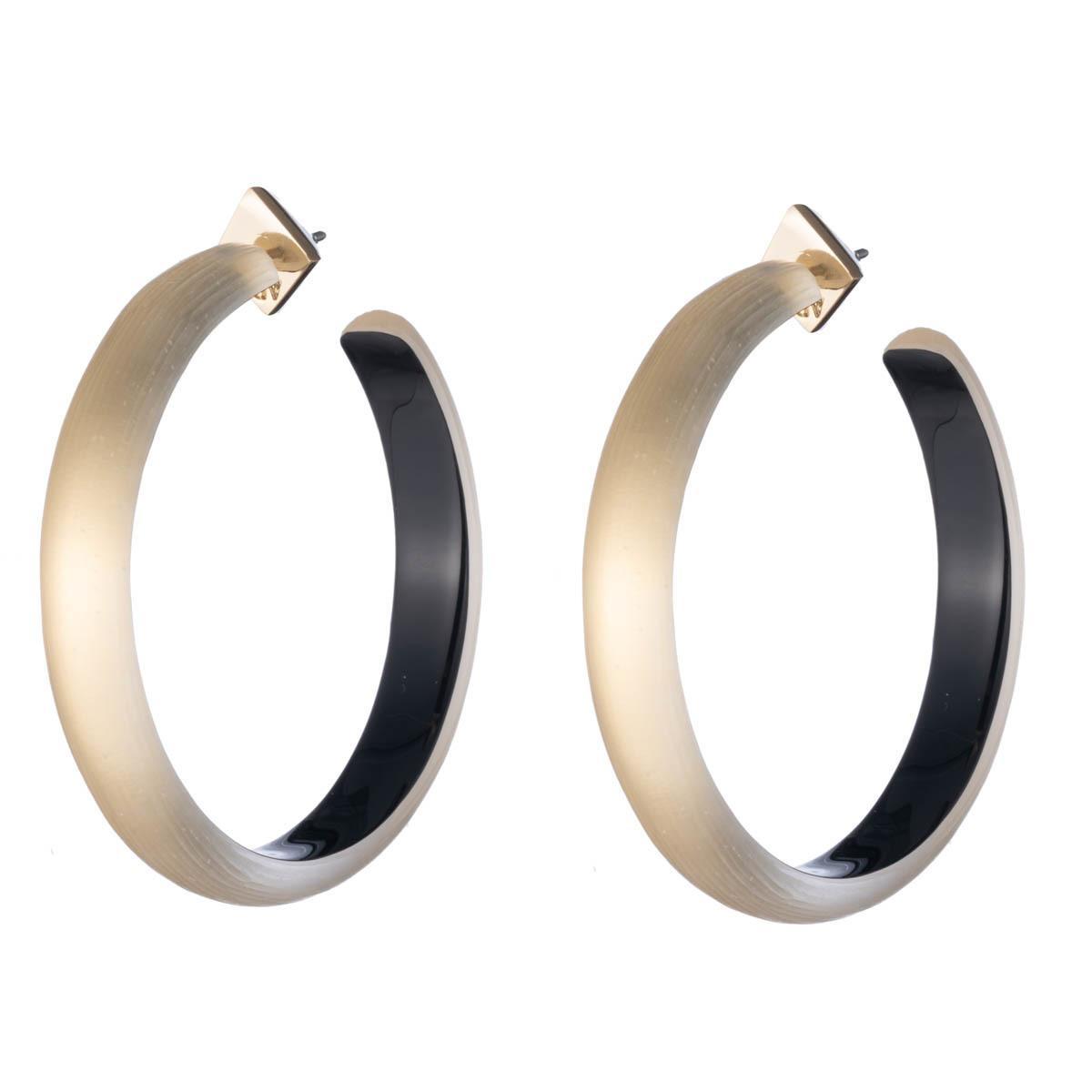 38b5b2c60 Alexis Bittar. Women's Metallic Large Slim Hoop Earring. $125 From Orchard  Mile
