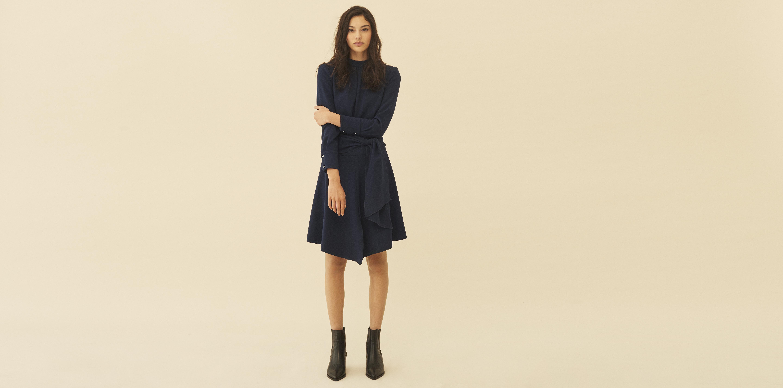 d47e0c51947 Lyst - Ba sh Valerie Dress in Blue