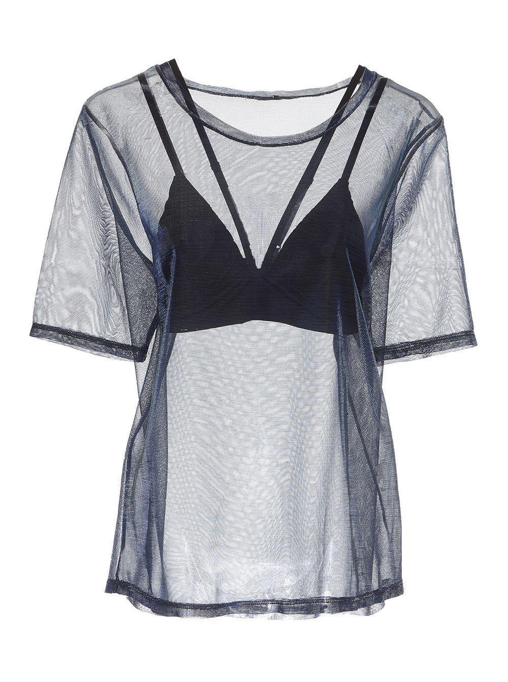 0df138c90c Cosabella - Blue Bisou Strappy Triangle Bralette   Tee Set - Lyst. View  fullscreen