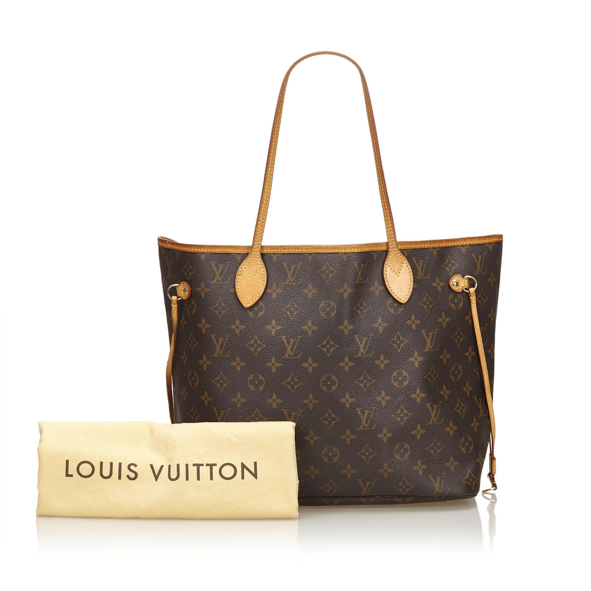 64cad24ff1eb Lyst - Louis Vuitton Monogram Neverfull Gm in Brown