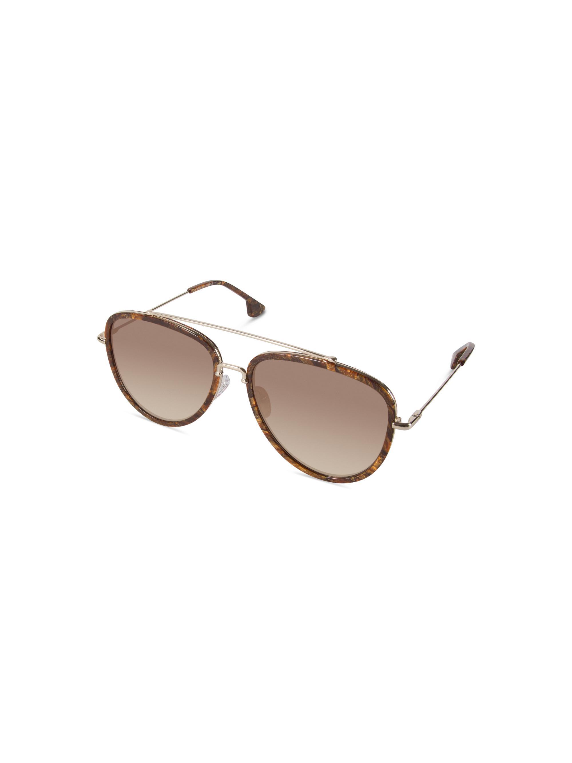 9466e1b0b6 Lyst - Alice + Olivia Lincoln Sunglasses