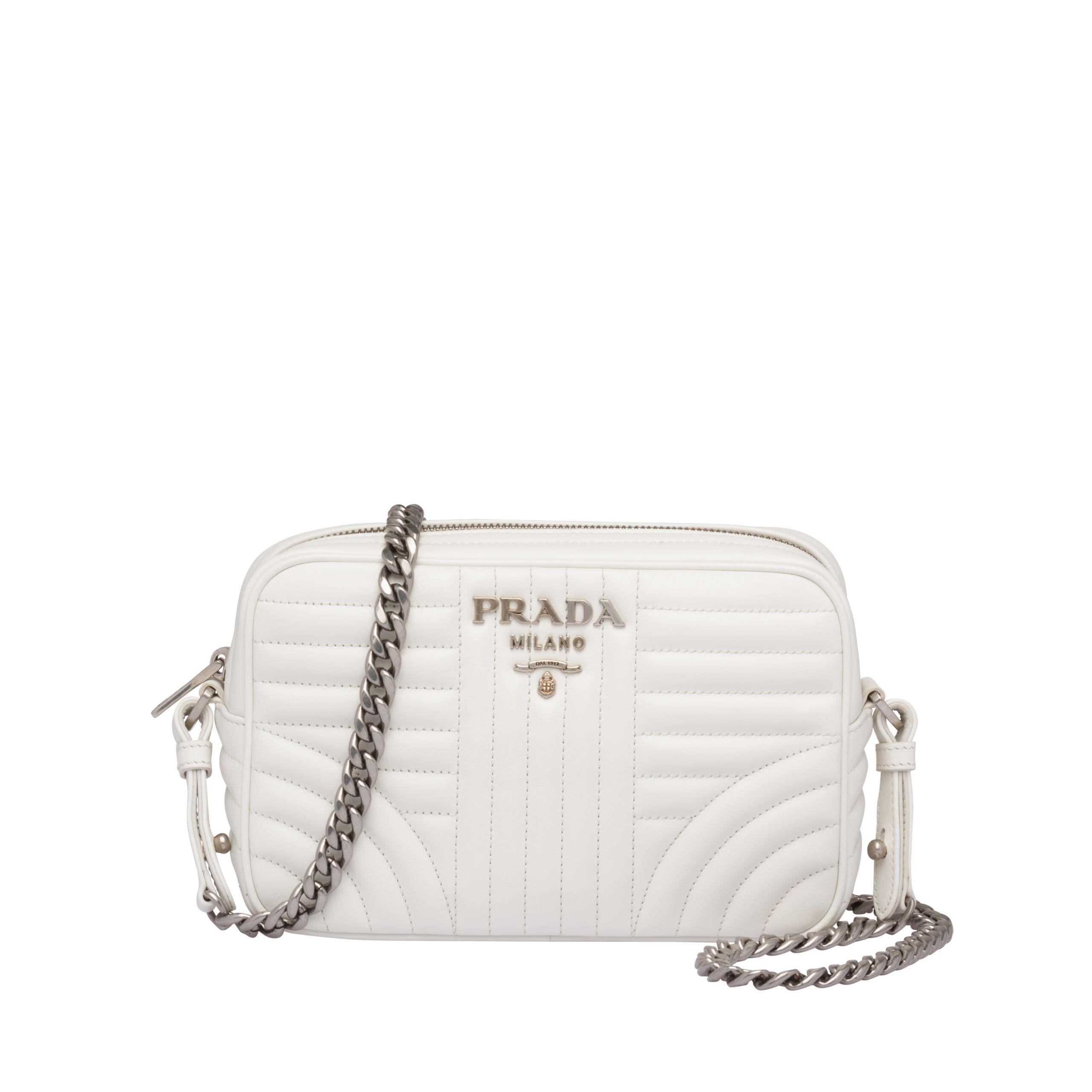 4bcc271127e6 Prada - Multicolor Diagramme Leather Cross-body Bag - Lyst. View fullscreen