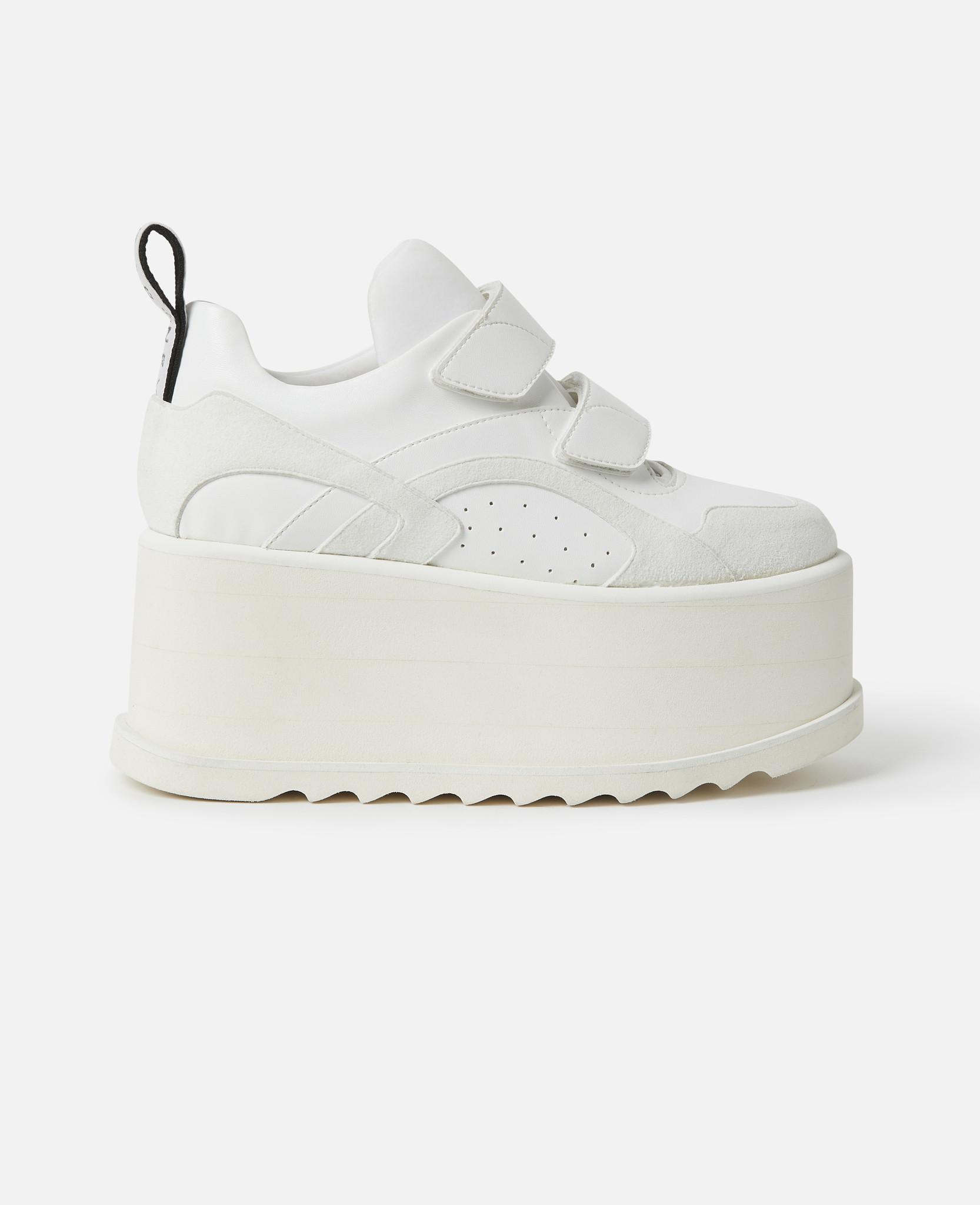 4b8312786e9a Lyst - Stella McCartney Eclypse Platform Sneakers in White