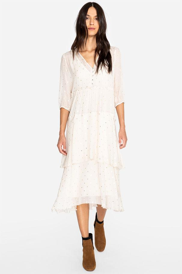 4e56504ae14 Johnny Was. Women's Raja Tiered Maxi Dress. $378 From Orchard Mile
