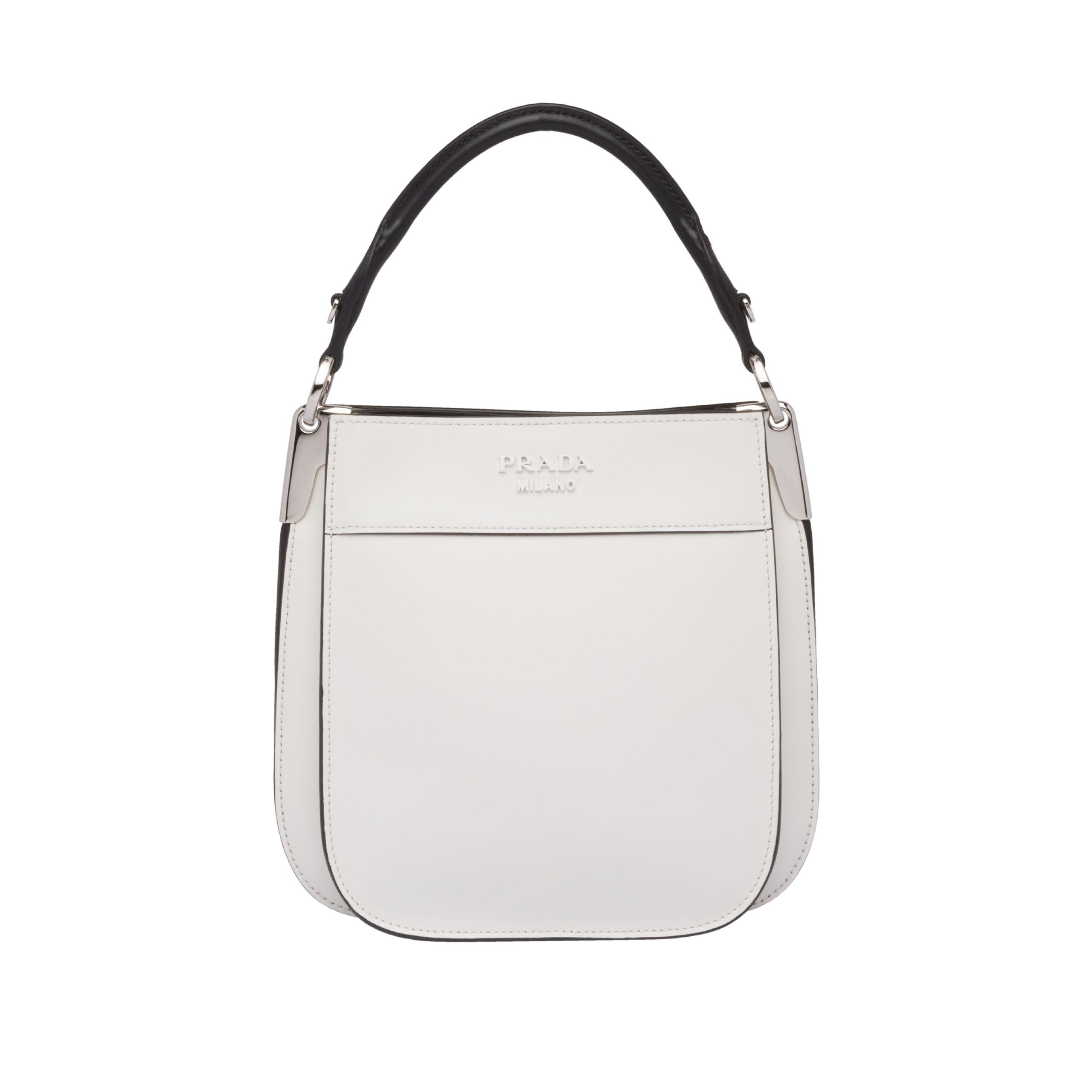 b6bb7571e4ed Prada Margit Small Leather Bag - Lyst