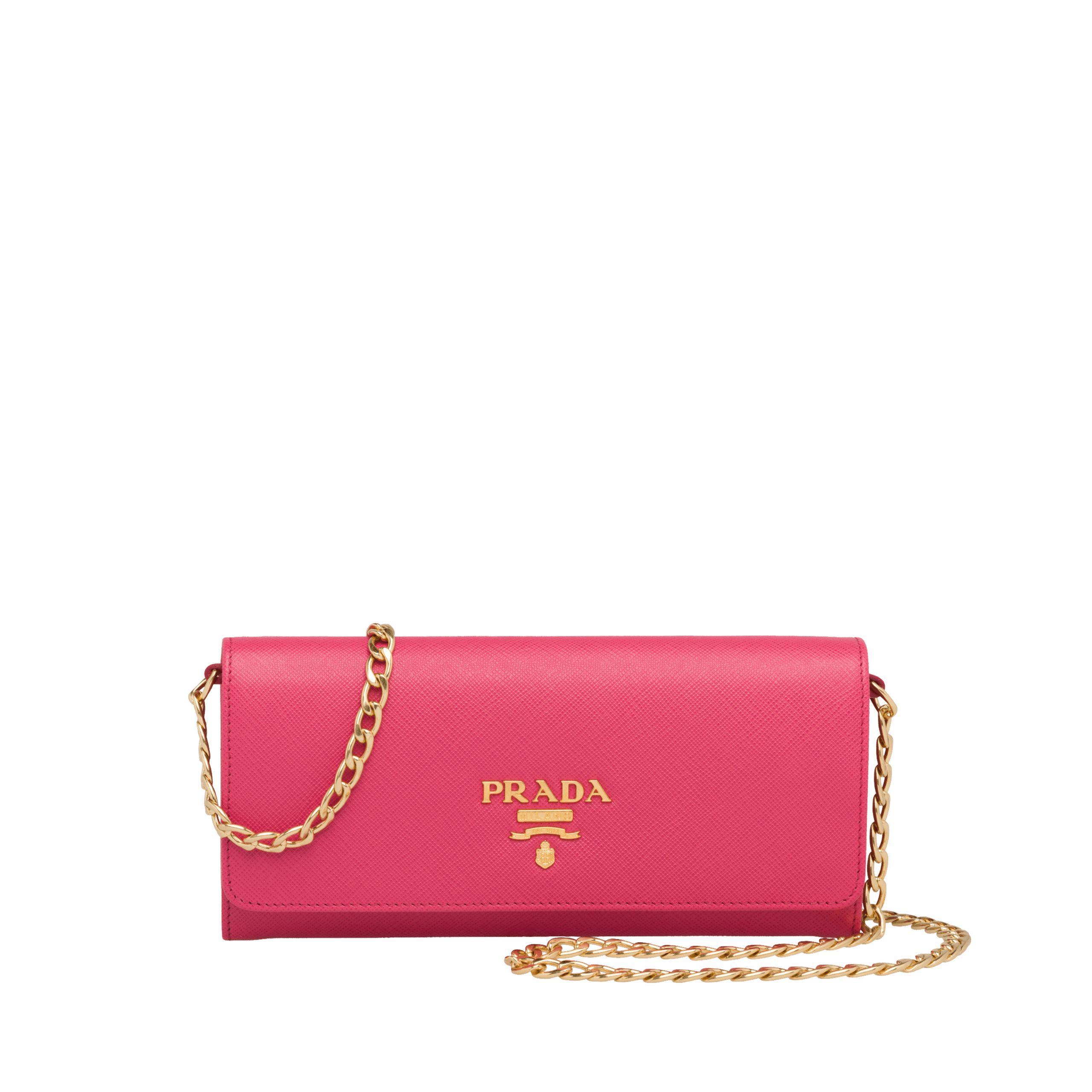 91d47b2c6310 Prada - Multicolor Leather Shoulder Bag - Lyst. View fullscreen
