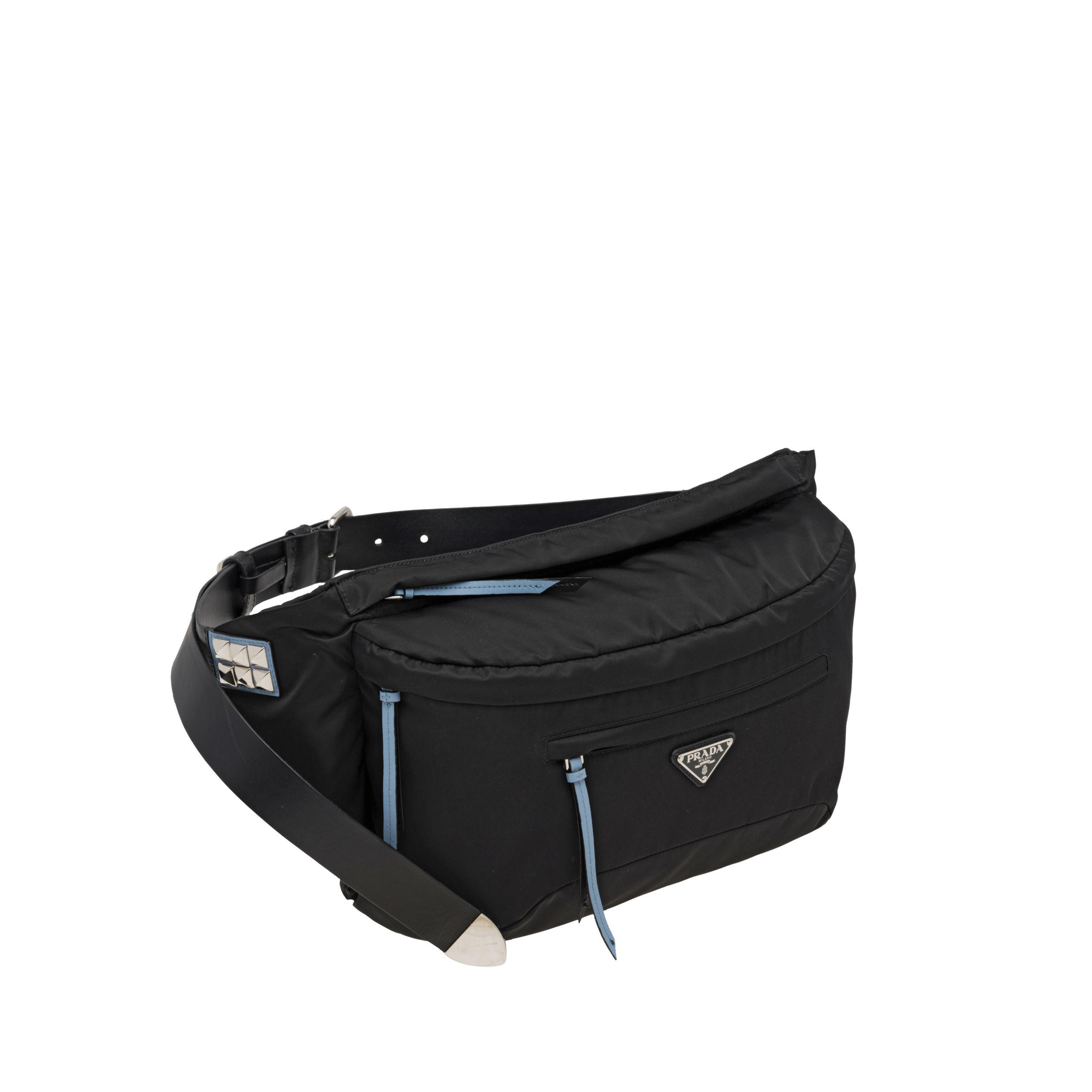 1f01dc050750 ... cheap prada black nylon belt bag lyst. view fullscreen 57564 f21c0