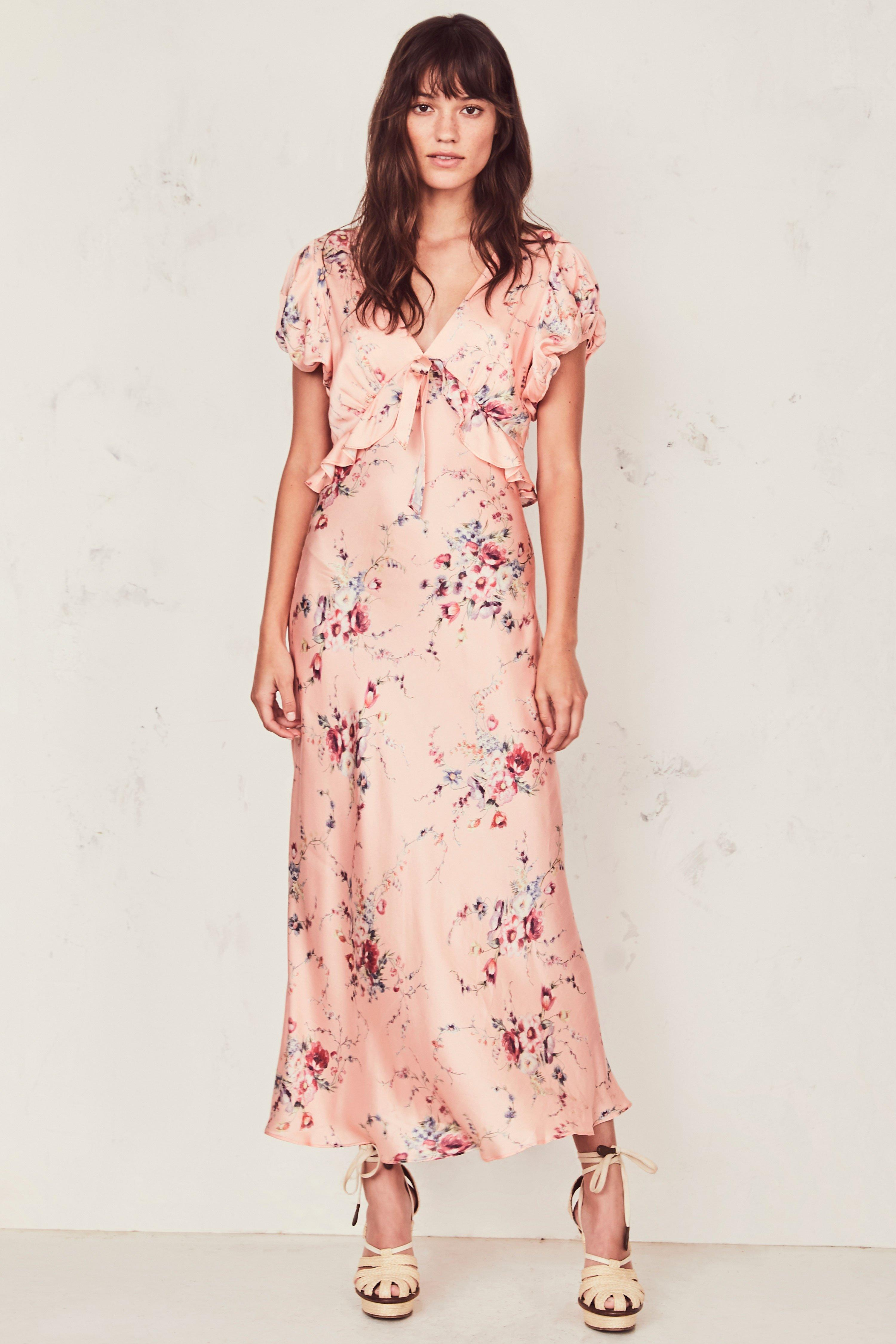 512c9dbd6 Lyst - LoveShackFancy Lillian Dress in Pink