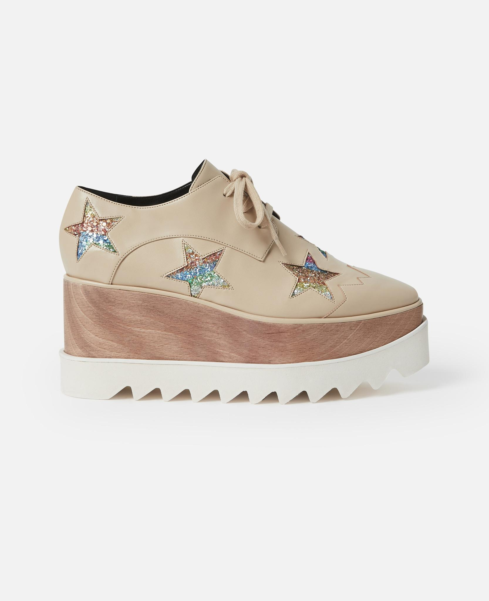 19f73552a14 Lyst - Stella McCartney Elyse Beige Shoes in Natural