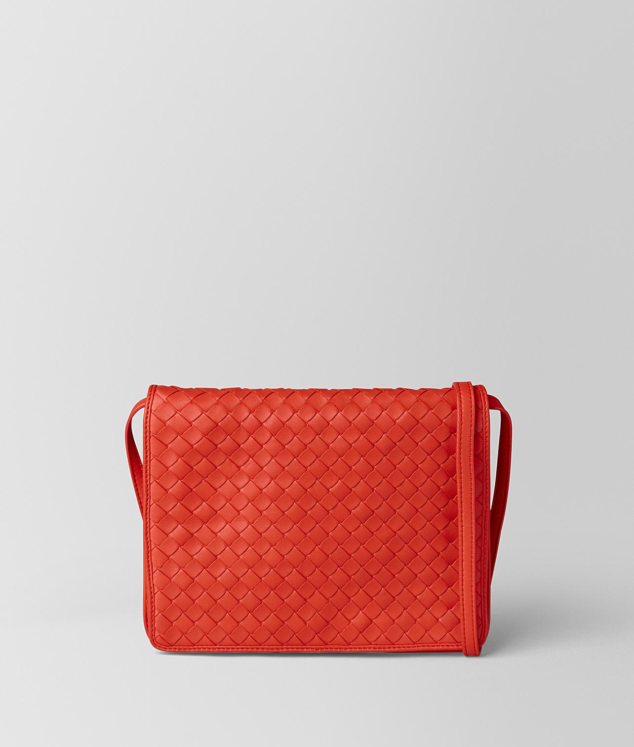 6c8c4cbc09f9 Bottega Veneta. Women s Red Crossbody Bag.  1