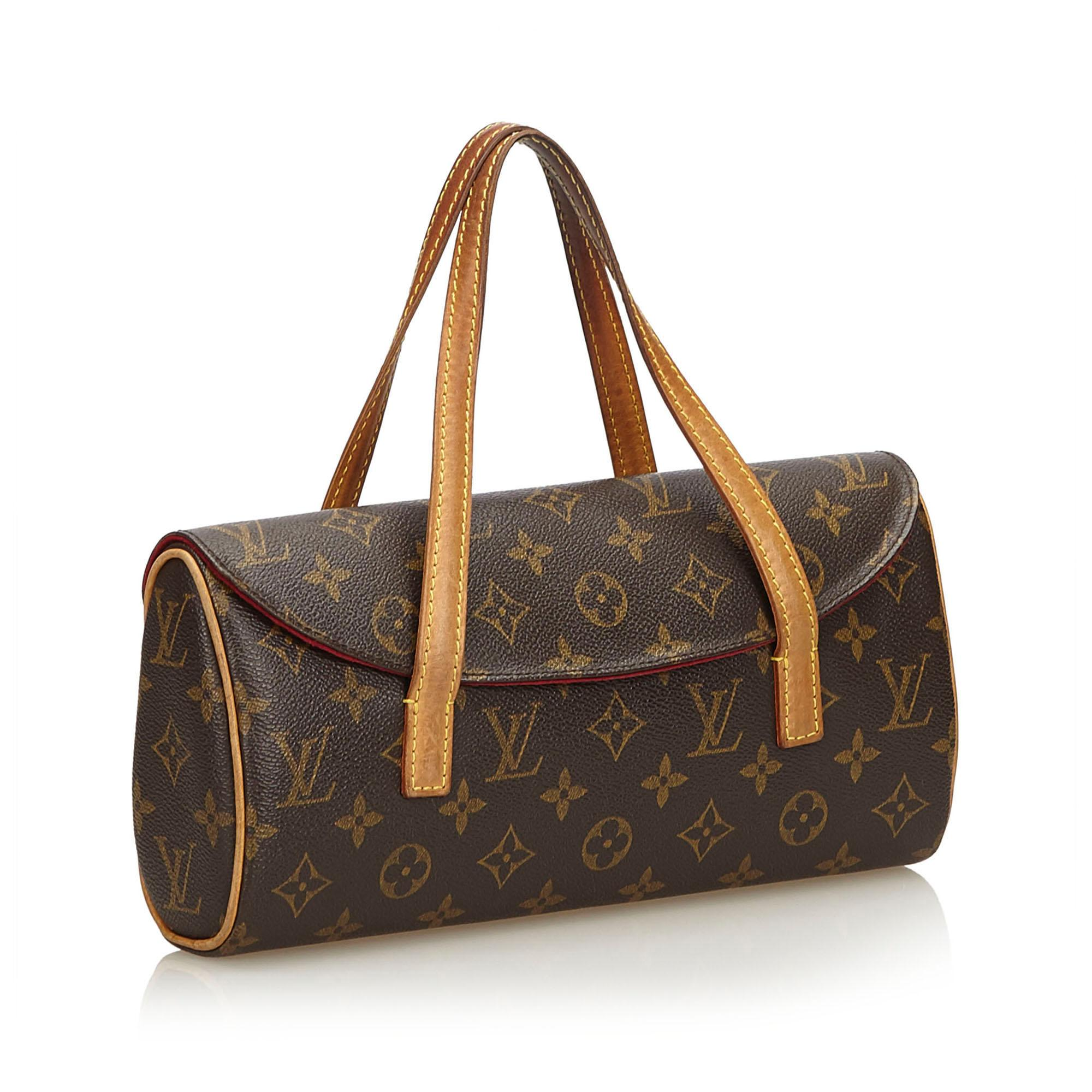 09f6c2dc8d41 Louis Vuitton - Brown Monogram Sonatine - Lyst. View fullscreen
