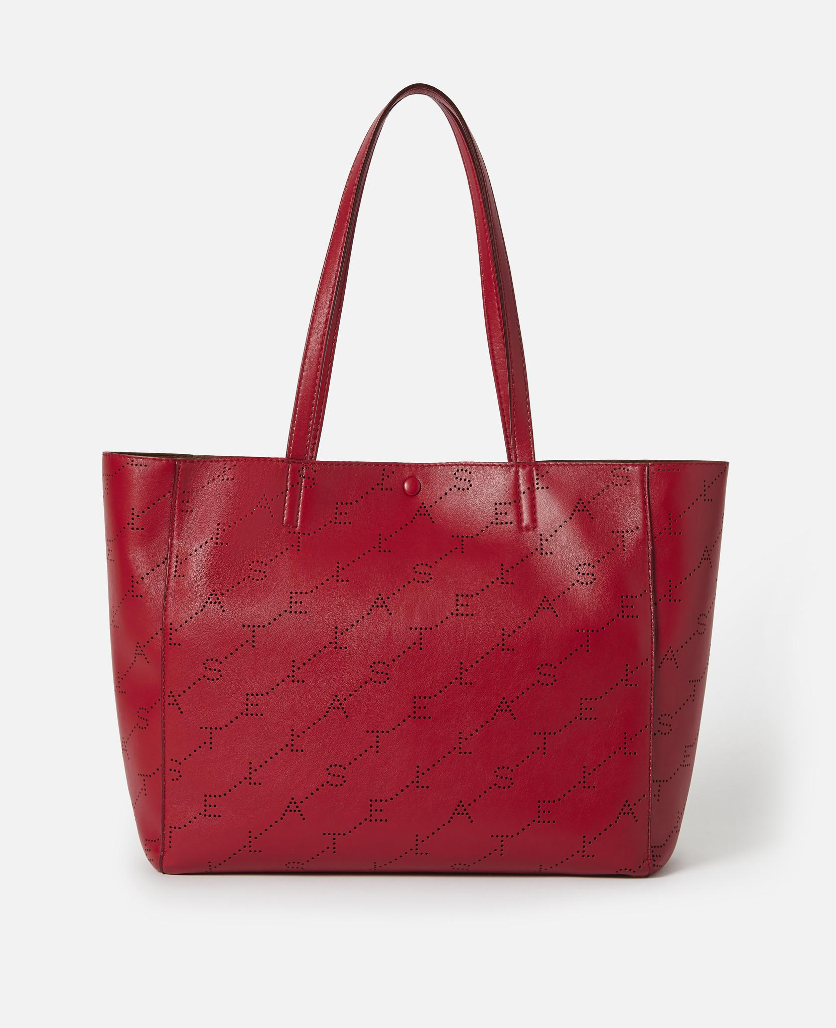 581fa05d1f3fe Stella McCartney. Women s Red Monogram Small Tote.  875 From Orchard Mile