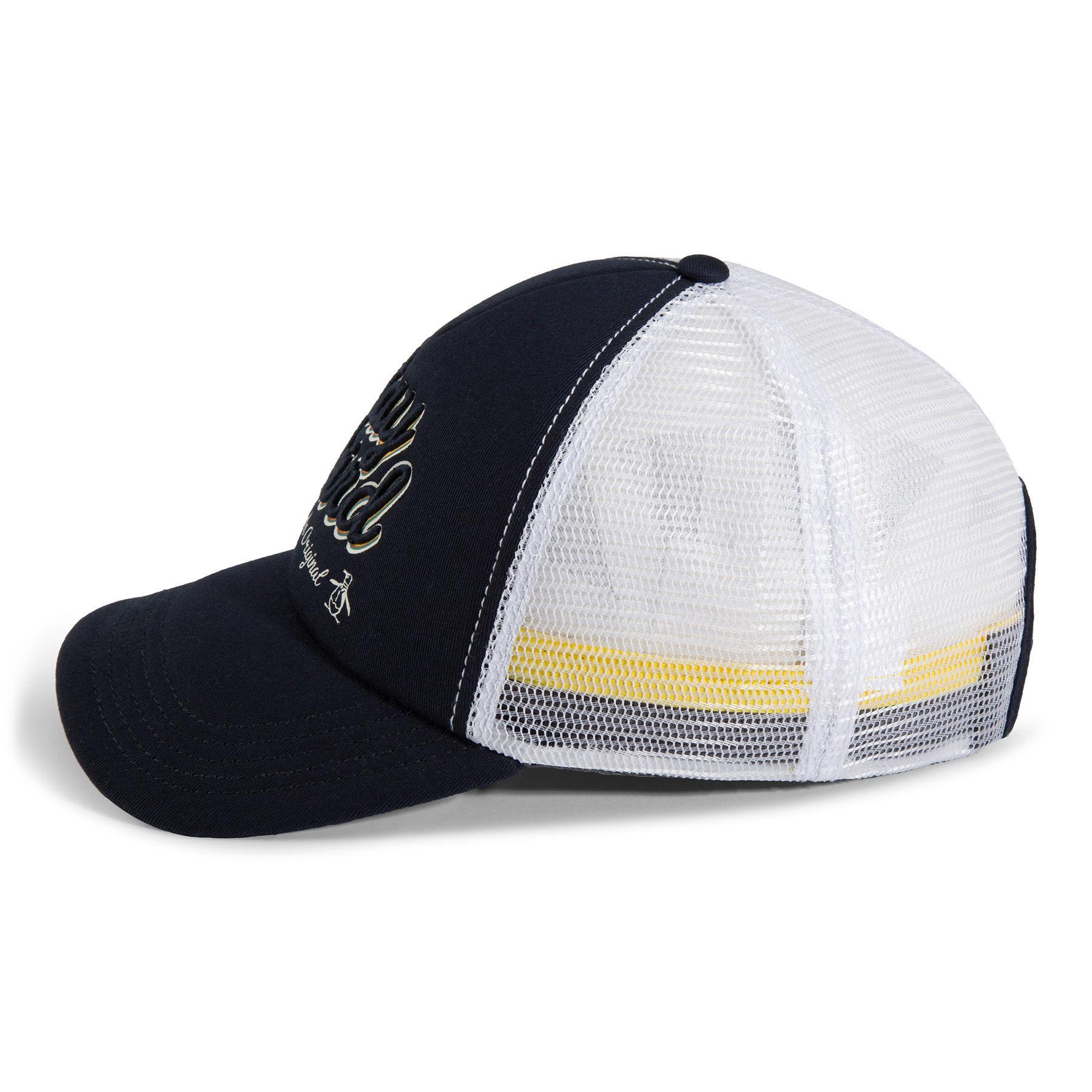 8ca45cf056b Lyst - Original Penguin Stay Weird Baseball Cap in Blue for Men