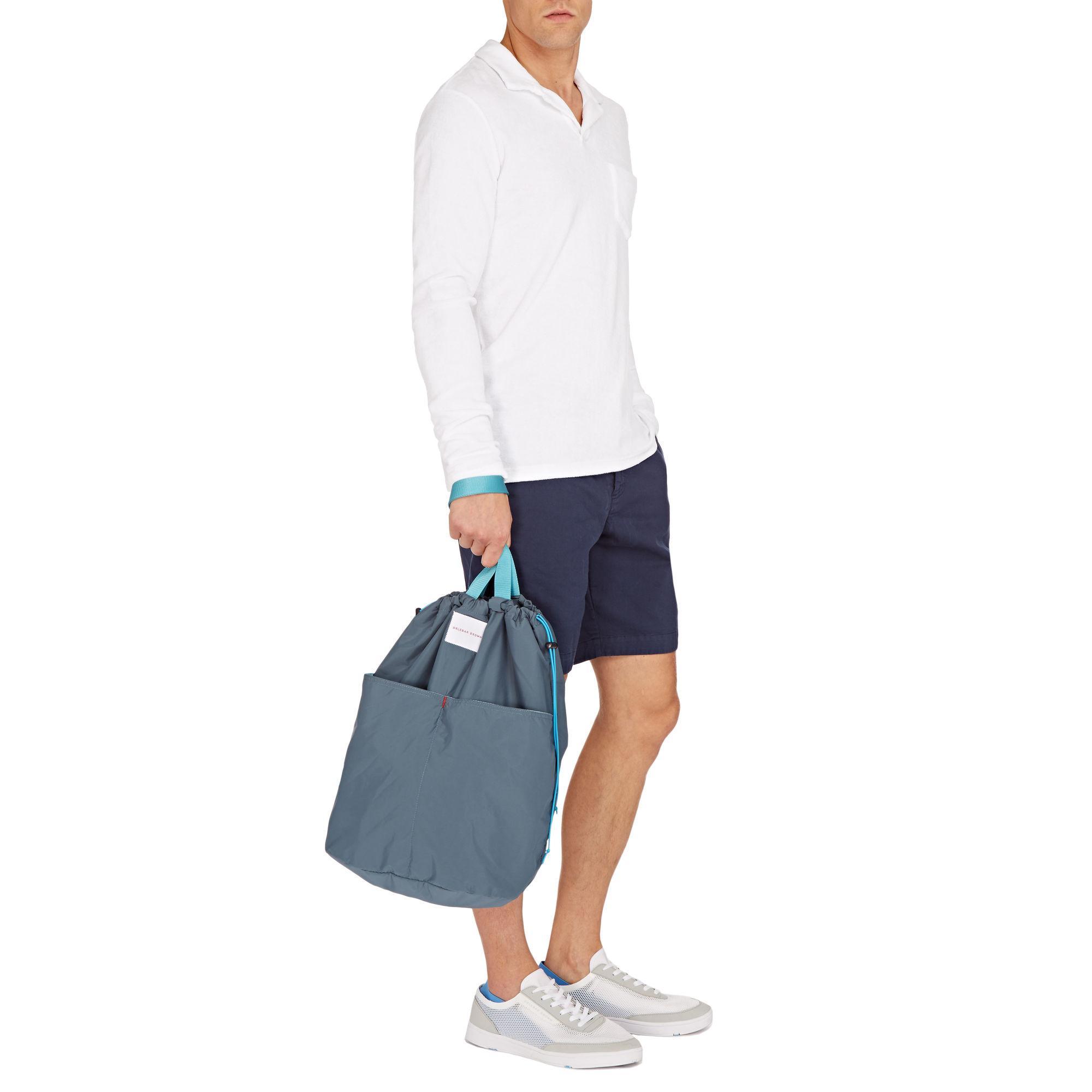 f2489ca2a Orlebar Brown Landsburgh Steel Blue Sport Tote Bag in Blue for Men ...
