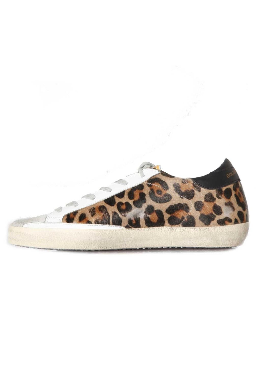 c2b64eadae81 Golden Goose Deluxe Brand Sneakers Superstar Snow Leopard Black Star ...