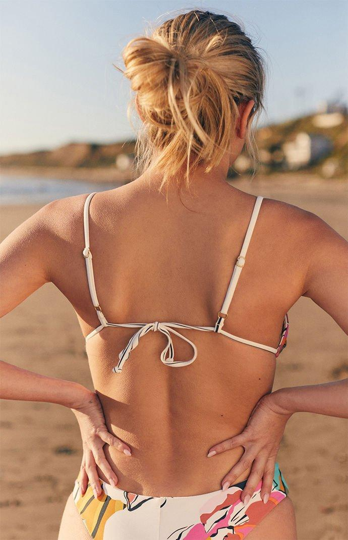 1beb5a13ad1 Billabong - Multicolor Day Drift Bralette Reversible Bikini Top - Lyst.  View fullscreen
