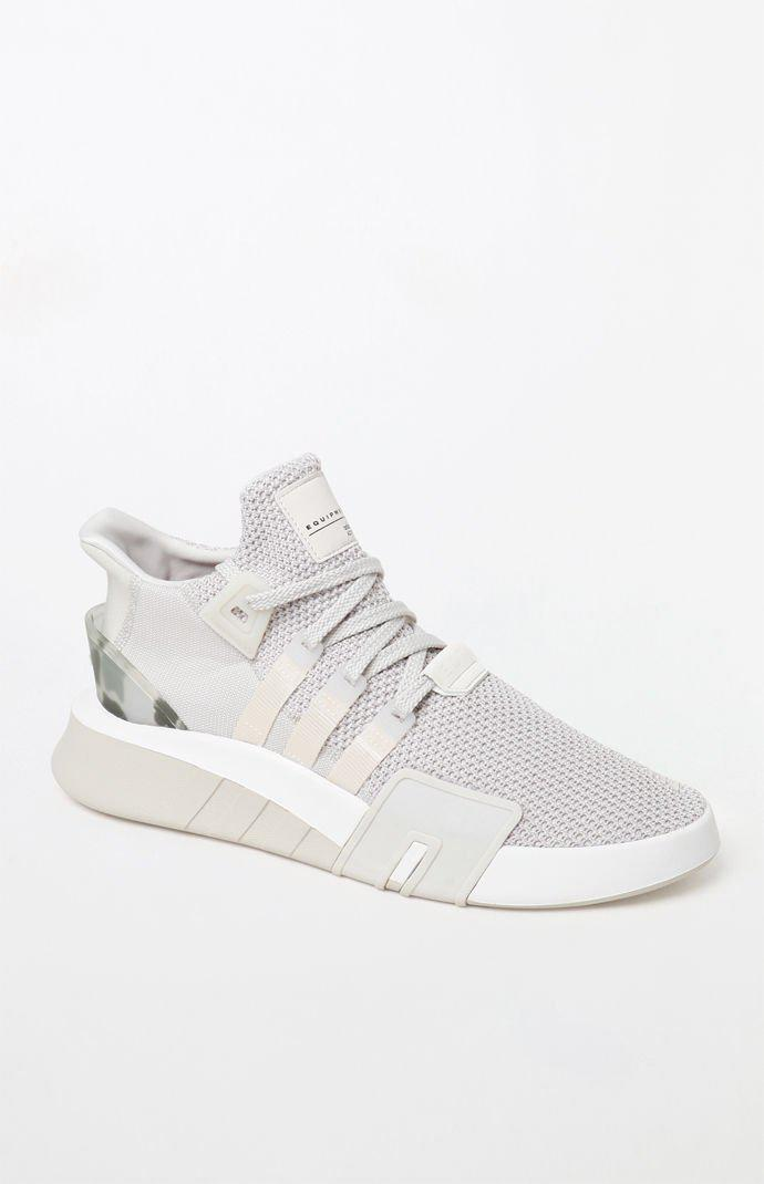 f8250038dfa Lyst - adidas Eqt Basketball Adv Off White Shoes in White for Men