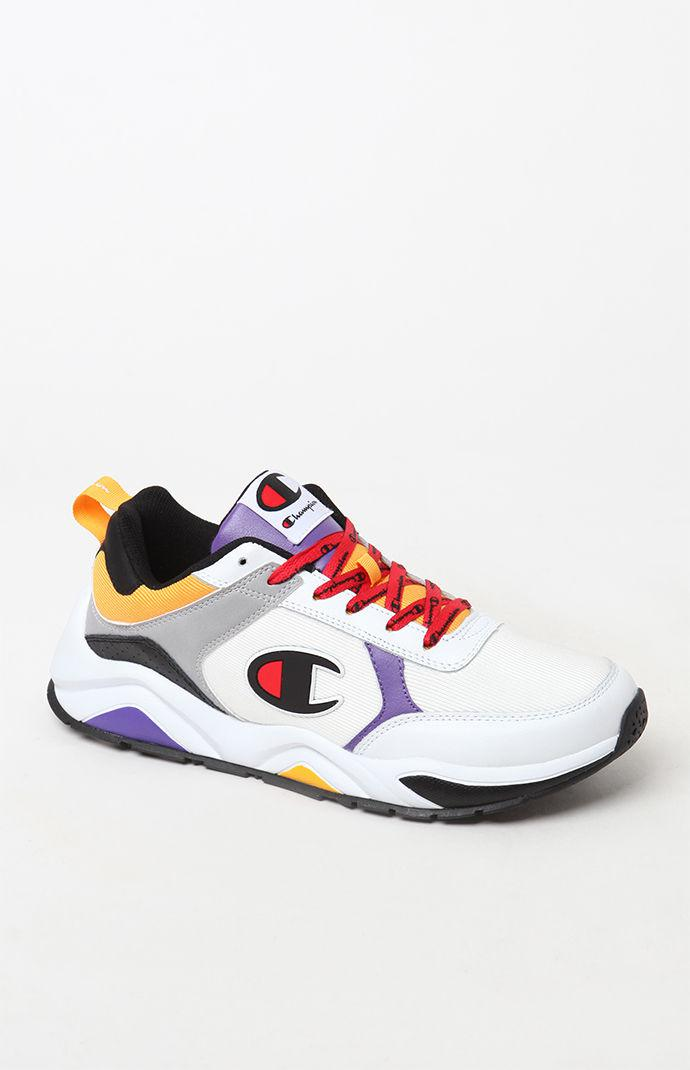 92bb8af8cb12c Champion - 93eighteen White Multi Block Shoes for Men - Lyst. View  fullscreen