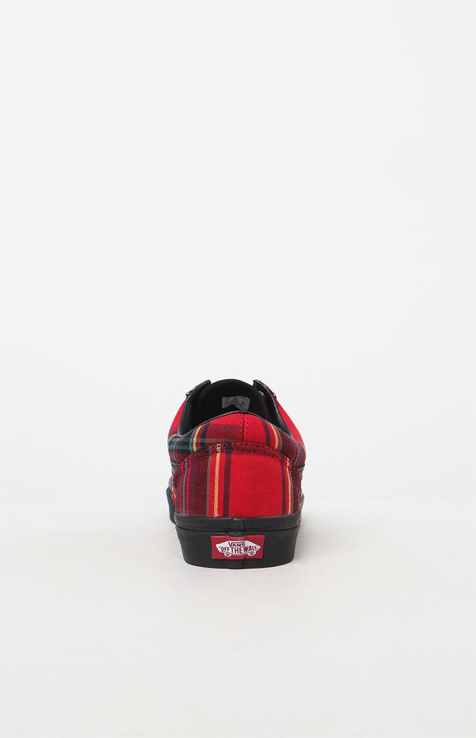 d39f7949e7 Lyst - Vans Old Skool Plaid Mix Shoes in Red for Men
