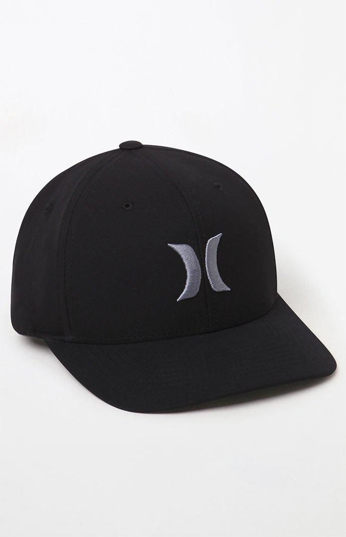 Lyst - Hurley Dri-fit One   Only Hat in Black for Men 2470729a192